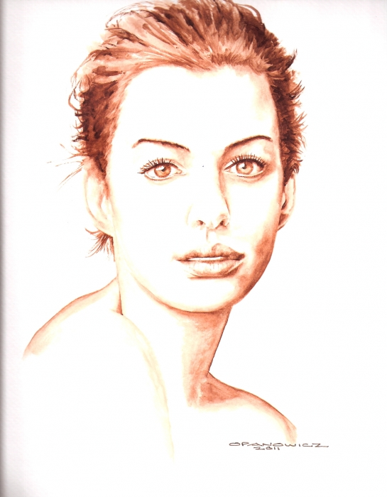 Anne Hathaway by richardkarl